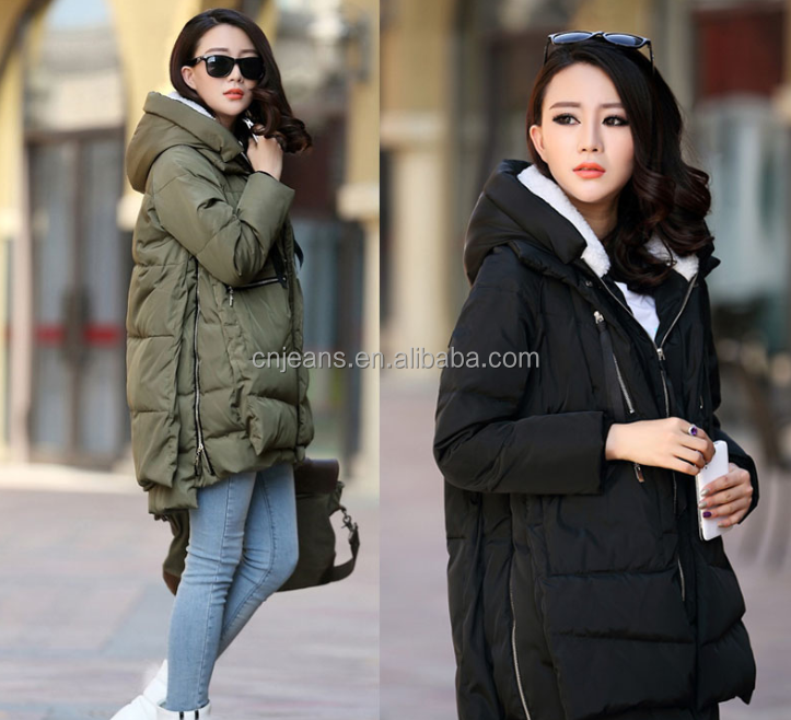 2017 fashion women winter overcoat length down overcoat Outdoor winter Overcoat