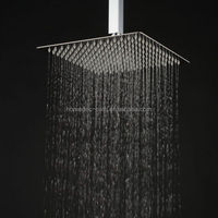 China factory wholesale 12 inch rotating rainfall top shower head