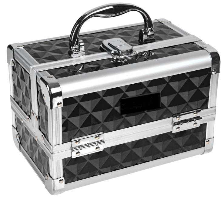 Carry All Train Case Makeup case/Makeup vanity case/Aluminum Beauty case