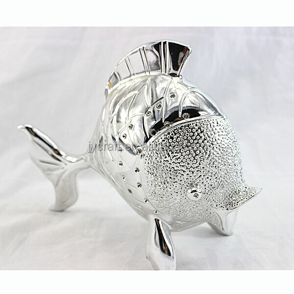 electroplate goldfish statues art and crafts