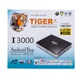 Tiger I3000 cable Arabic Satellite Receiver World Andriod TV Box Smart TV Box 1year pop iptv 1year atlas iptv 1year iks for free
