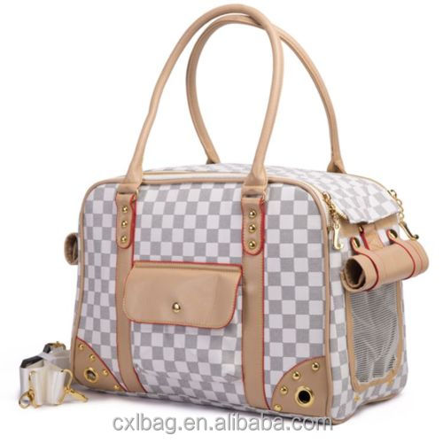 Airline Approved Pet Dog Cat Carrier Bag/ Pet Dog Cat Travel Handbag Purse