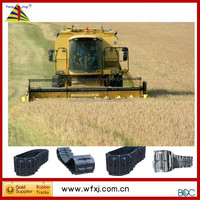 We have products in stock --- 350mm width ag rubber crawler tracks