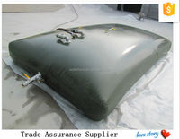 puncture resistant polyurethane collapsible fuel tank