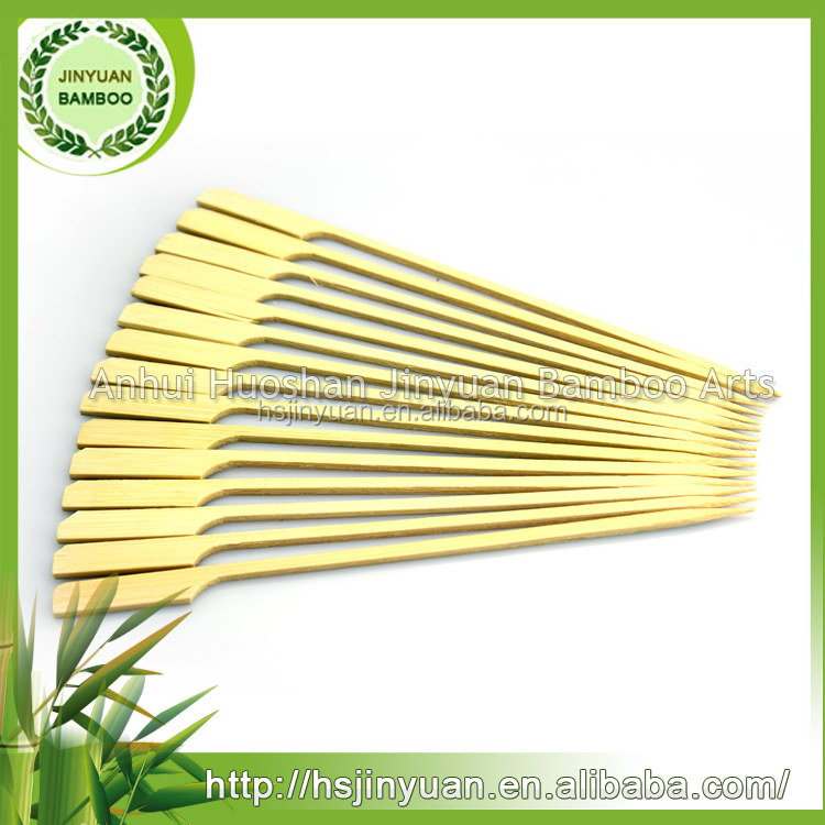 Low price first grade bamboo gun skewers domestic in china