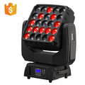 2018 new product 25x15w beam moving head rgbw matrix beam lighting