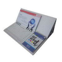Desk Calendar With Sticky Notepad