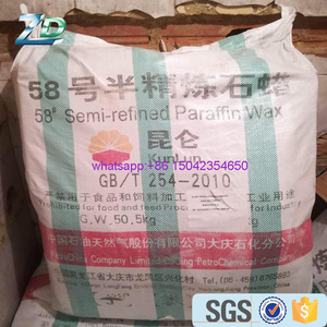 wholesale cheap kunlun 58-60 paraffin wax in China