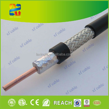 High quality rg11 solid copper coaxial cable