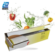 Box packing pe pvc food non-toxic foil plastic film protective wrap