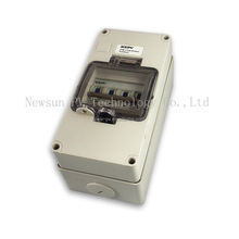 IP65 Miniature Circuit Breaker Box 199.5mm*101.5mm*104mm 4P for solar system