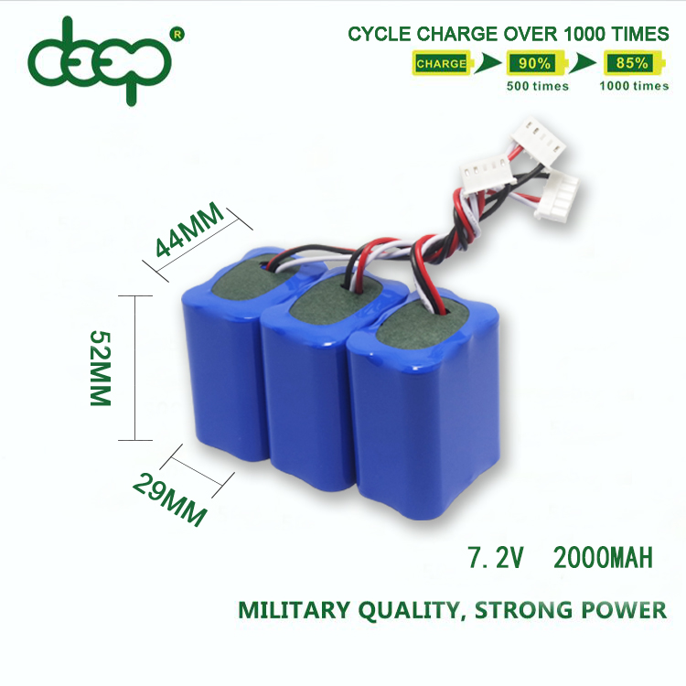 Eco-friendly rechargeable RC car sweeper battery pack sc aa 4/3a nimh 7.2v 1800mah 2000mah 4500mah