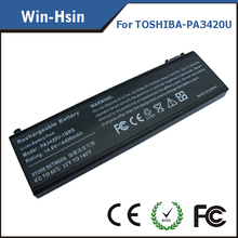 Battery for battery for toshiba satellite l100 l10 l20 pa3420u-1brs pa3450u-1brs laptop battery