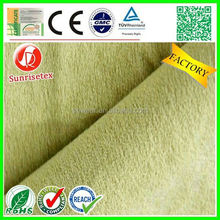 waterproof comfortable wicking property suede, suede fabric