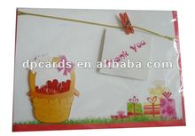 different shape greeting cards printing