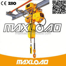 From China 1 Ton Crane Hometown DQH Maxload Fixed Electric Chain Hoist Have Compatitive Price