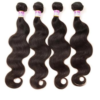 Wholesale virgin human full lace wig 100% natural brazilian body wave hair