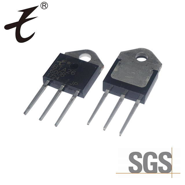 Supply high quality Triac thyristor BTA26 transistor