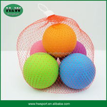 net bag pack rubber bouncy ball