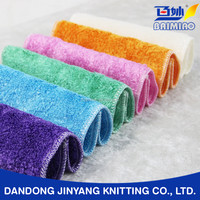 highly absorbent double-deck oil free kitchen bamboo fiber scouring pad cleaning
