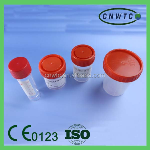 Medical Sterile PP 120ml Urine Container with Lid