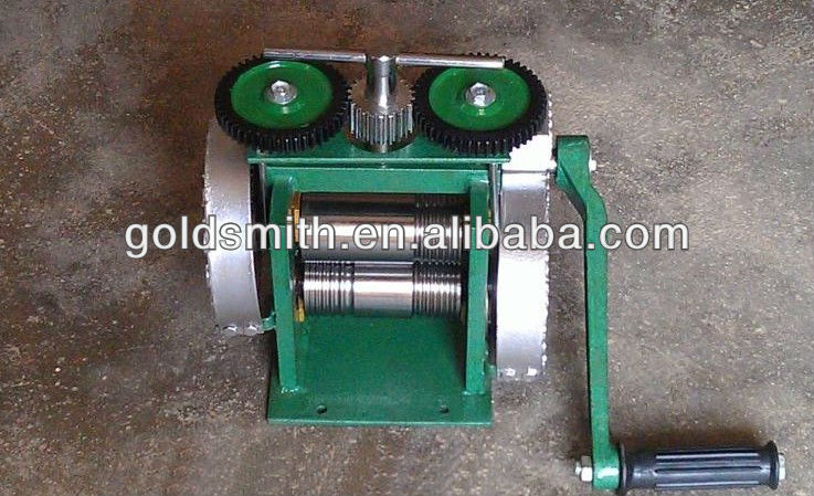 hand operate mini jewelry rolling mill , jewelry making tool