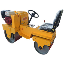 Seat type full hydraulic double drum vibratory road roller