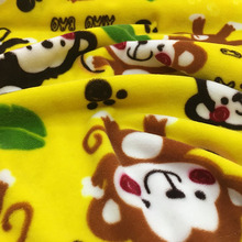 New design animal printed velvet fabric/beautiful upholstery fabric for baby garment/ Upholstery FLX8011 914