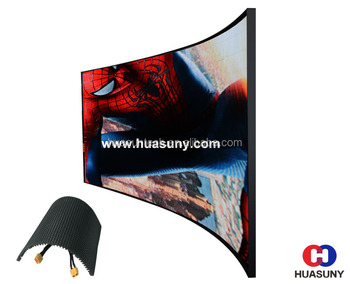 Curved LED module mulfiple application
