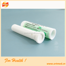 Plastic customized inhaler sticks