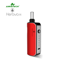 2017 hot new products 510 cbd vape mods Airistech Herbva X dry herb pen vaporizer dab rig e cigarette