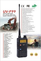 Firstcom FC-9UV Dual band Handy Talkie UV-F99 indonesia