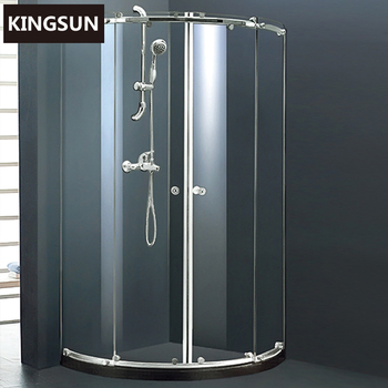 Folding Spare Parts Tempered Shower Enclosure