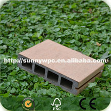 145*30mm natural wood like wpc deck floor covering