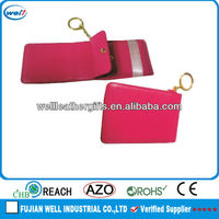 PU leather name card case