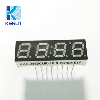 Wholesale Small size 16 pins red color 0.28 inch 7 segment led display 4 digit
