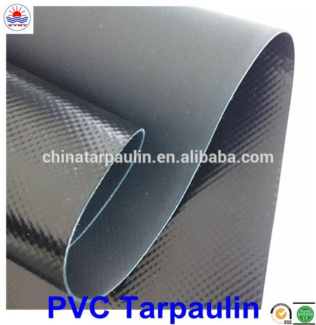 High quality on side PE coated direct food contact pvc tarpaulin for truck cover in rolls low price solid tyre