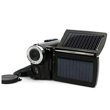 "Solar Powered 12MP Digital Video Camera with 3.0"" LCD Screen (DCE1077)"