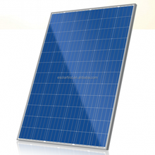 High quality factory price 210W polycrystalline silicon solar panel cells solar module for solar mounting