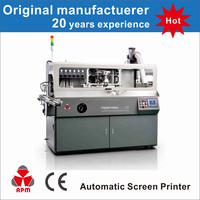 S101 single color auto bottle screen printer