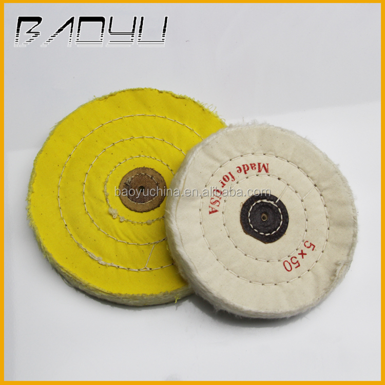 Jewelry and Gemstone Polishing Cotton Buffing Cloth Wheel