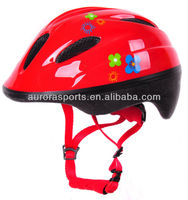 pretty kids bike helmet with CE