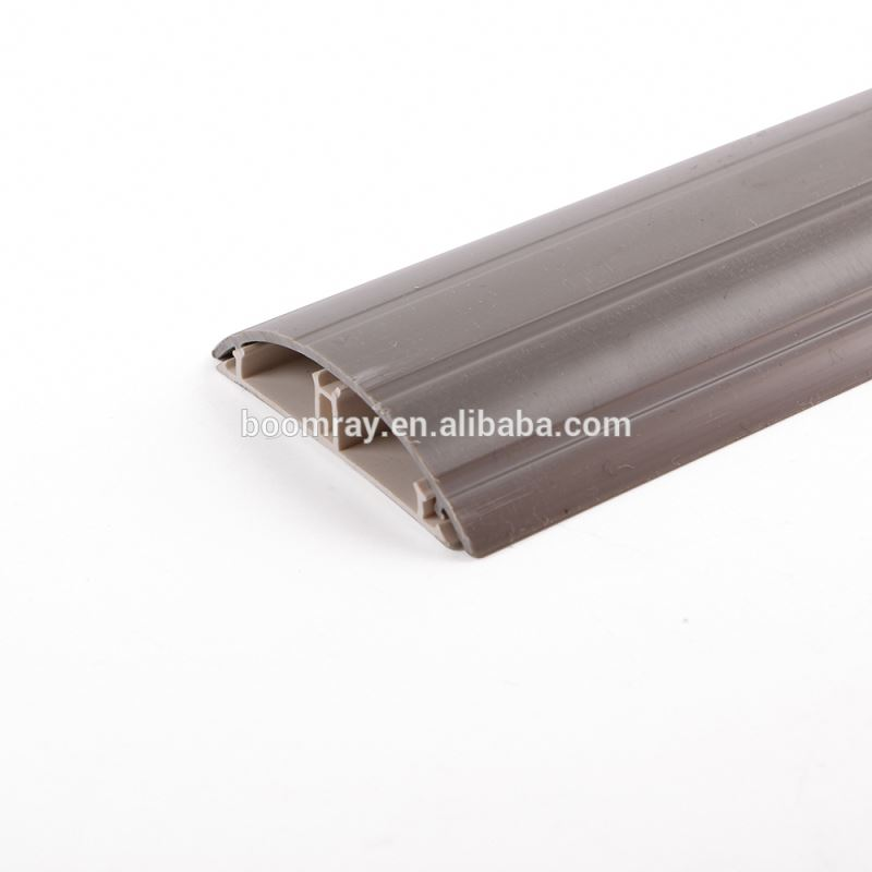 China Golden Supplier Small Latching Surface Solid Floor pvc cable duct with Cover