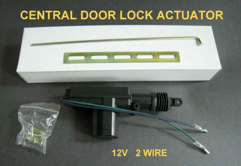 12V 2 /5 Wire Power Car Central Lock linear actuator
