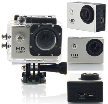 Full HD Wifi 1080P Waterproof 2.0 inch screen 170 degree wide angle Action Sport Camera
