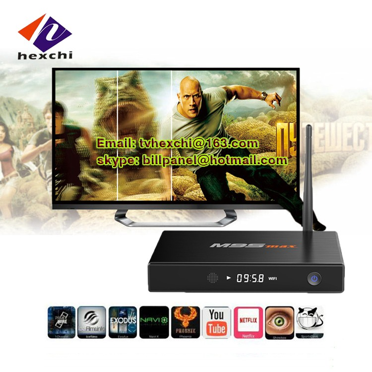 android tv box with skype camera M9S MAX Ott Smart Android Tv Box android tv box full hd media player 1080p