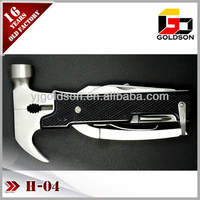 folding plastic handle specification multi hammer with screwdriver