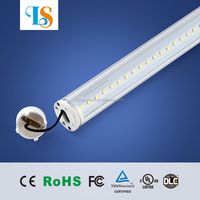 plug n play 0.6m 2ft 8w 9w 10w t8 led tube light with milky/clear cover