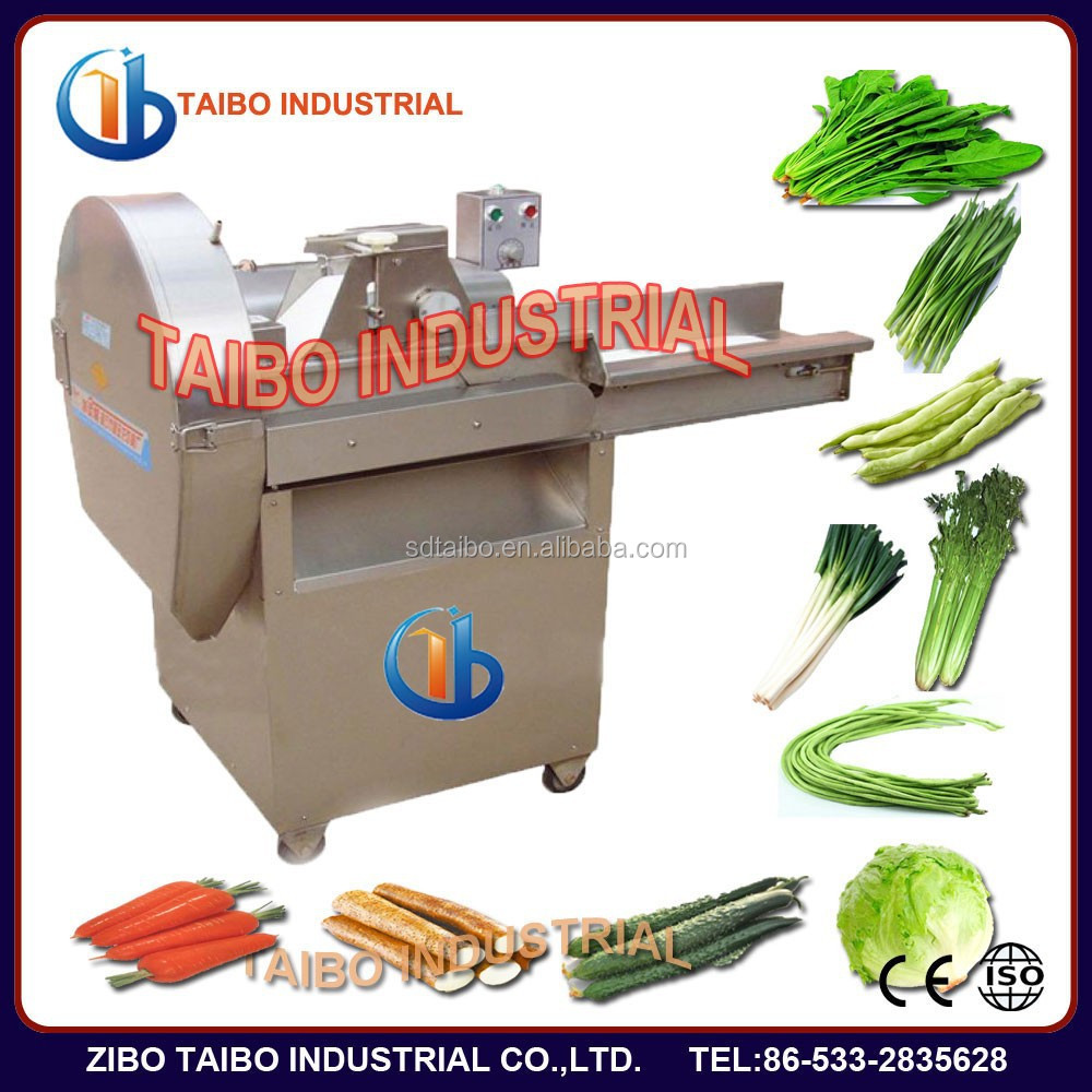 electric automatic spinach leafy vegetable cutter machine