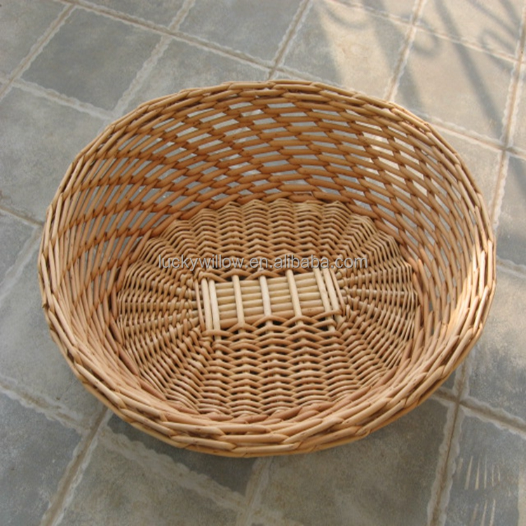 home used 2016 new design wicker fruit basket
